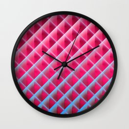 Deep Magic Grid 06 Wall Clock