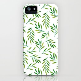 Willow -Green iPhone Case