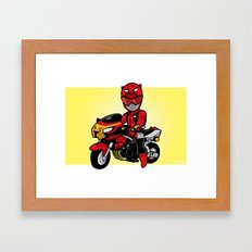 BusterRed Mini-Print Framed Art Print