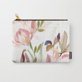 Darling Blooms Carry-All Pouch
