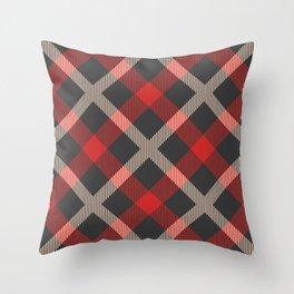 Classic Tartan Throw Pillow
