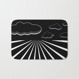 Dark Sky on the Horizon Bath Mat