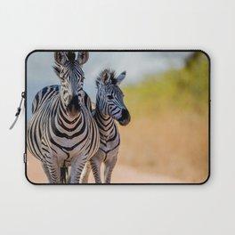 Bonding Zebras Laptop Sleeve