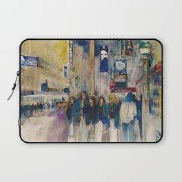 Phantom of the Opera New York Theatre District _ (2014) Watercolor  Laptop Sleeve