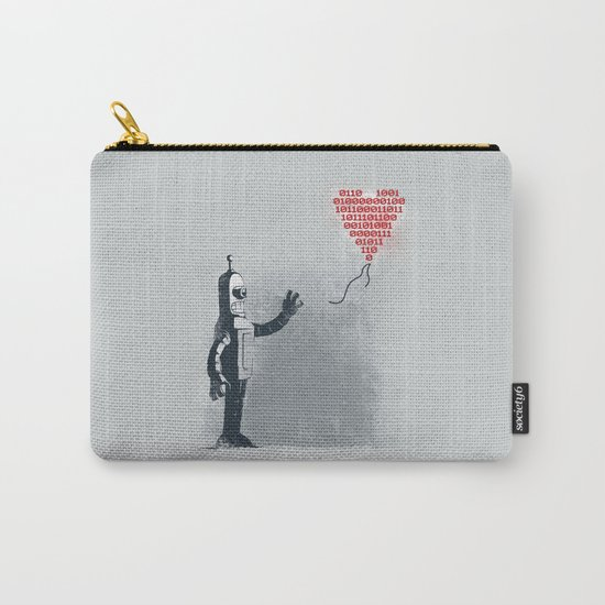 Binary Art Carry-All Pouch