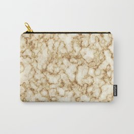 Golden Marble Texture Pattern Cutest Carry-All Pouch