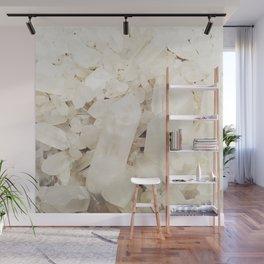 Quartz Crystals Wall Mural