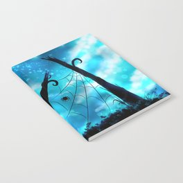 Spider's Enchanted Night Notebook