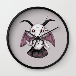 Plushie Baphomet  Wall Clock