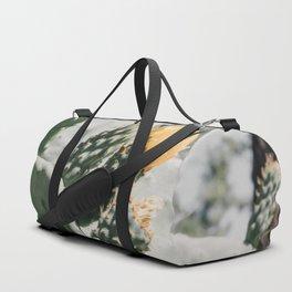 flowering cactus i Duffle Bag