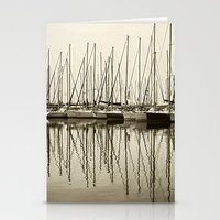 boats Stationery Cards featuring Boats by stephmel