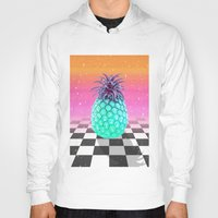 pineapple Hoodies featuring Pineapple by Danny Ivan