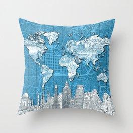 London Maps Throw Pillows | Society6