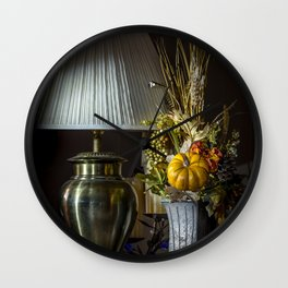 Harvest Decor Wall Clock