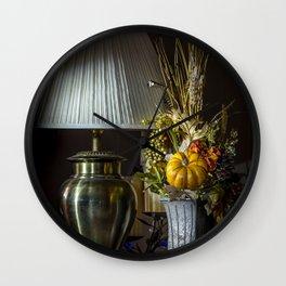 Harvest Decor Wall Clock