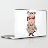 mouse Laptop & iPad Skins featuring Mouse by Carmen Sarrion