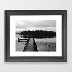 South Island New Zealand  Framed Art Print