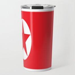 Flag of North Korea Travel Mug