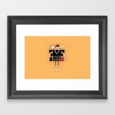 Back to Kitsch Business Framed Art Print