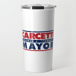 CARCETTI FOR MAYOR Travel Mug