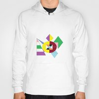nfl Hoodies featuring NFL Abstract by Franky Fleece