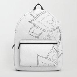 Lotus Mandala Sacred Geometry Backpack