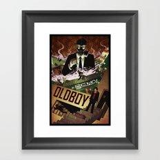 Oldboy [full color] Framed Art Print
