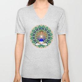 Divine Spark Mandala Unisex V-Neck