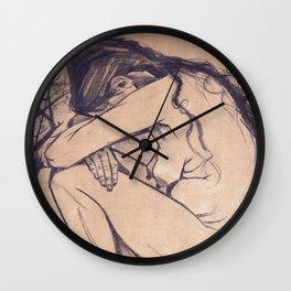 Vincent van Gogh - Sorrow (1882) Wall Clock