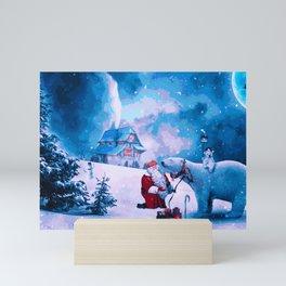 Once Upon A Christmas Eve Mini Art Print