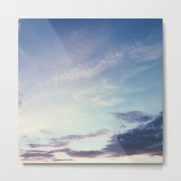 What Goes Up Metal Print