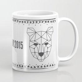 Totem Festival 2015 - Black & White Coffee Mug