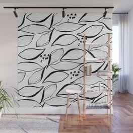 lilies of the valley Wall Mural