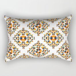 Fantasy Garden Pattern V Rectangular Pillow