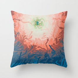 One Dollar Throw Pillow