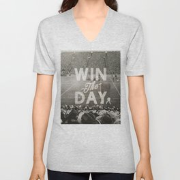 Win the Day Unisex V-Neck