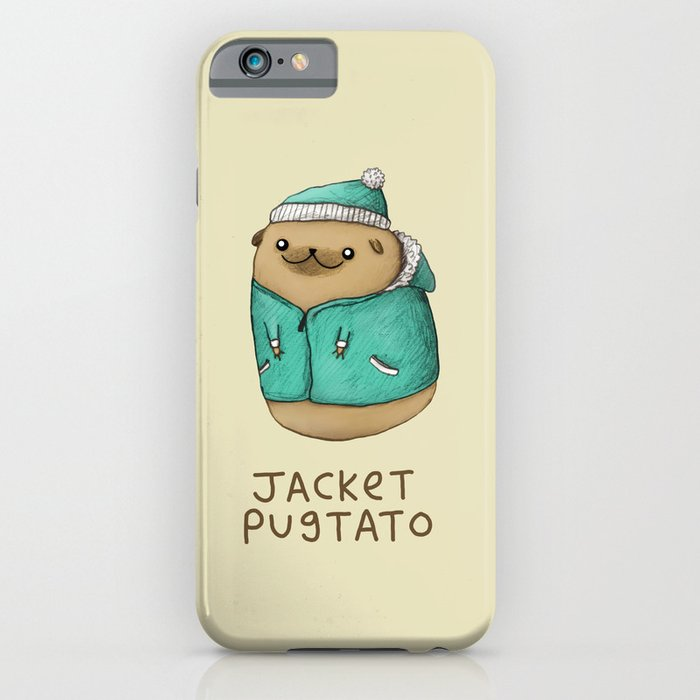 jacket pugtato iphone case