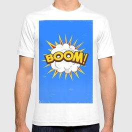 BOOM! limited edition Blue edition T-shirt
