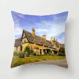 Alluring Cotswolds. Throw Pillow