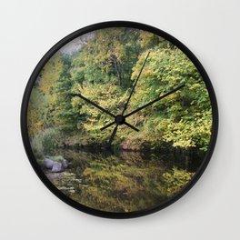Water of Leith Edinburgh 2 Wall Clock