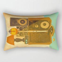 RECORD ROOM Rectangular Pillow