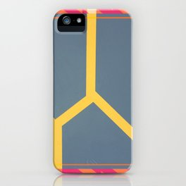 To Bee or Not - pink/orange graphic iPhone Case