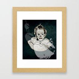 FRIENDLY MONSTERS Framed Art Print