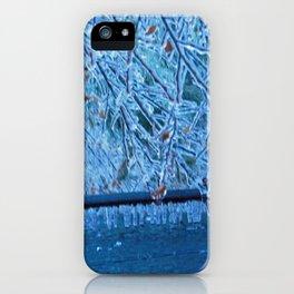 Malibu Icicles iPhone Case
