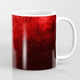 Spartan Red Abstract Coffee Mug