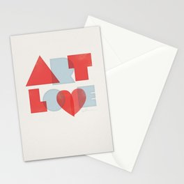 Art Love Stationery Cards