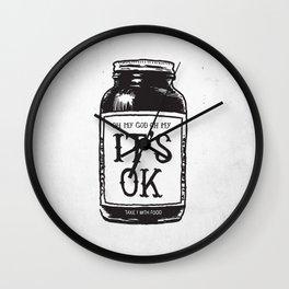 IT'S OK Wall Clock