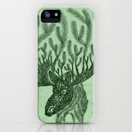 Moose-fir iPhone Case