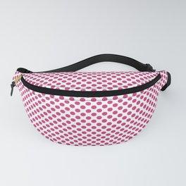 Pink Yarrow Polka Dots Fanny Pack