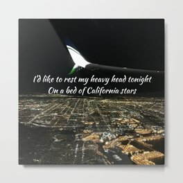 California Stars Metal Print